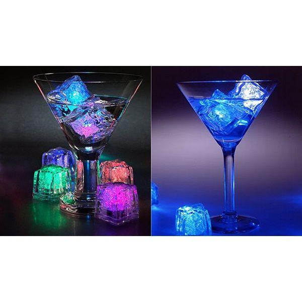 Светящиеся кубик светодиодного льда