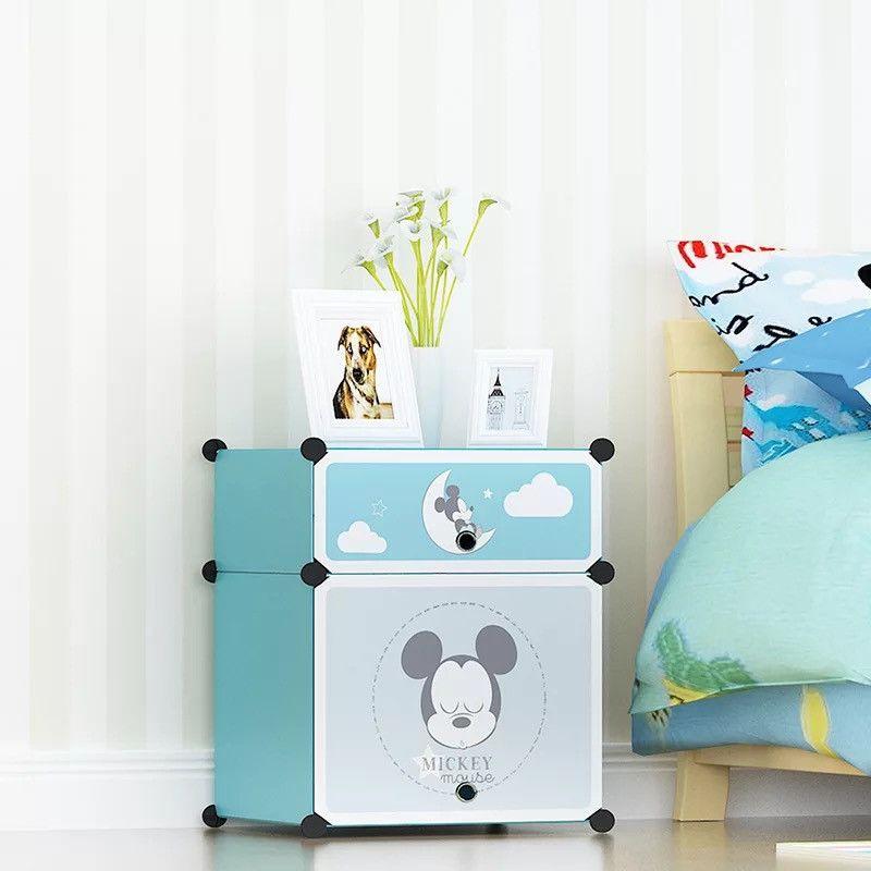 Детский складной шкаф Микки Маус (45-35-52)