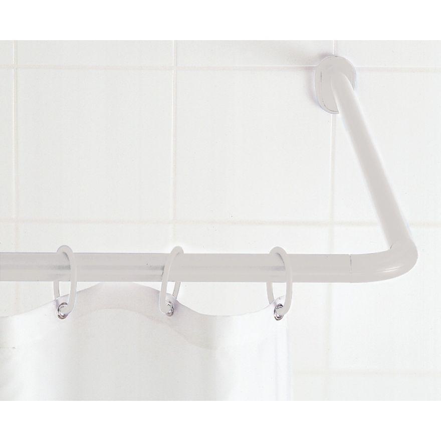 Угловой карниз для ванной комнаты Corner Shower Rods Kit