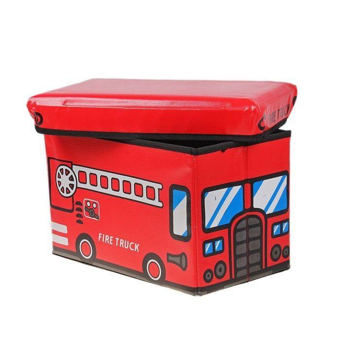Короб-пуф для хранения игрушек 48х28х30 см