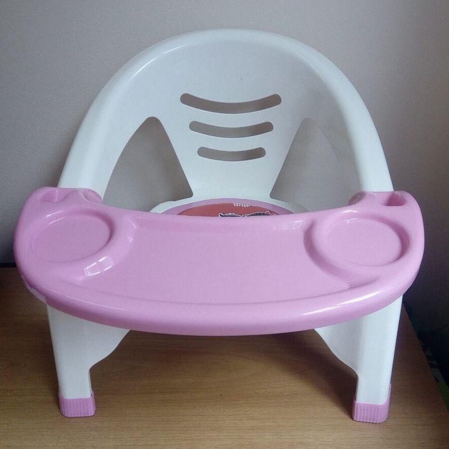 Детский стульчик для кормления (Цвет: Розовый)