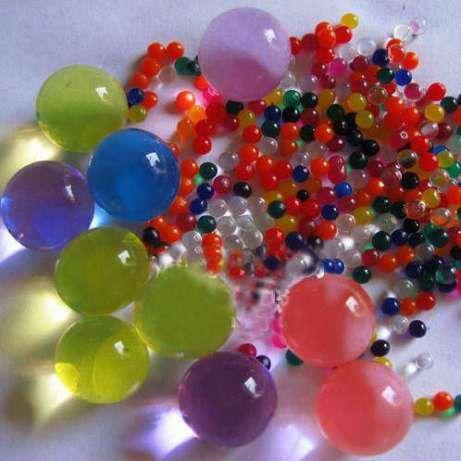 Гидрогелевые шарики в банке, 500 г