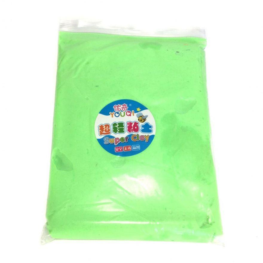 Масса для лепки цветная Super Clay (Цвет: Зеленый)