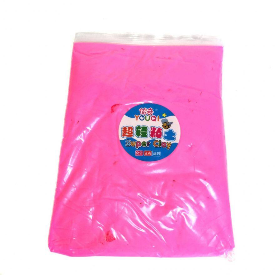 Масса для лепки цветная Super Clay (Цвет: Розовый)