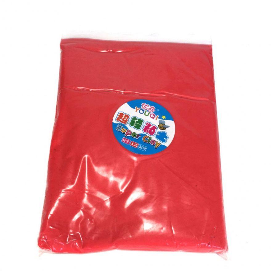 Масса для лепки цветная Super Clay (Цвет: Красный)
