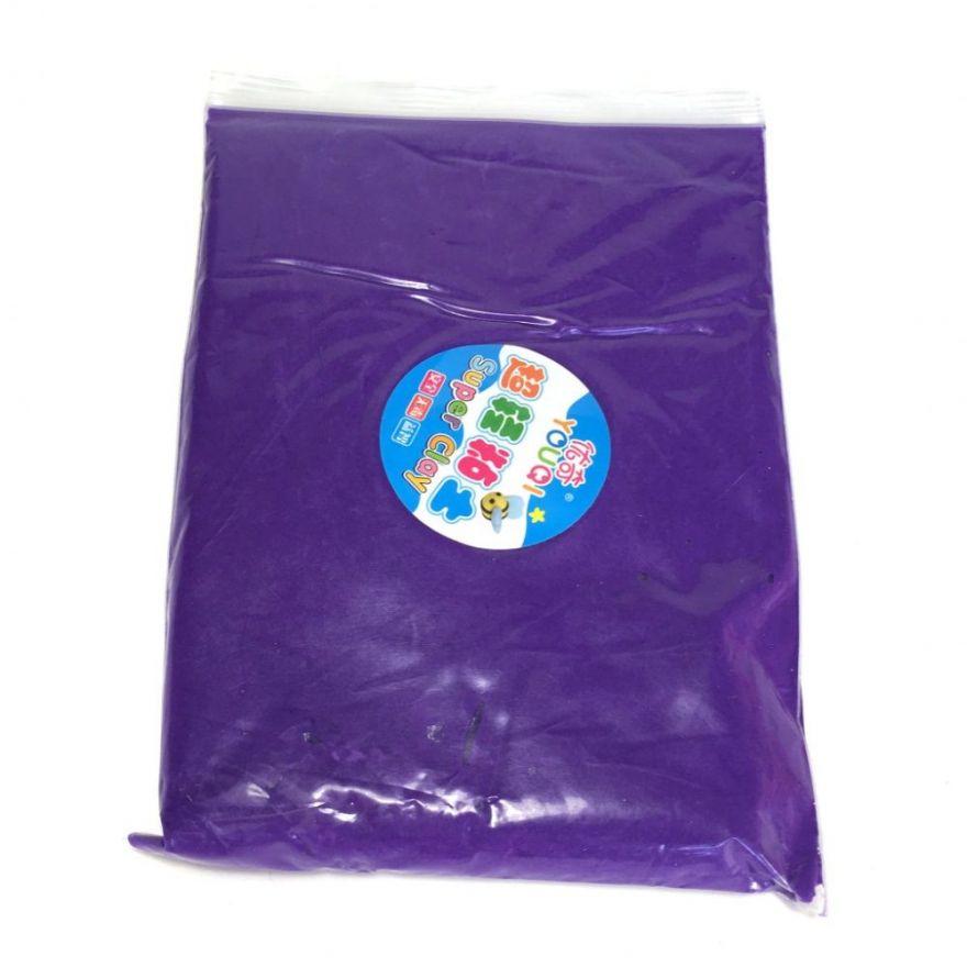 Масса для лепки цветная Super Clay (Цвет: Фиолетовый)