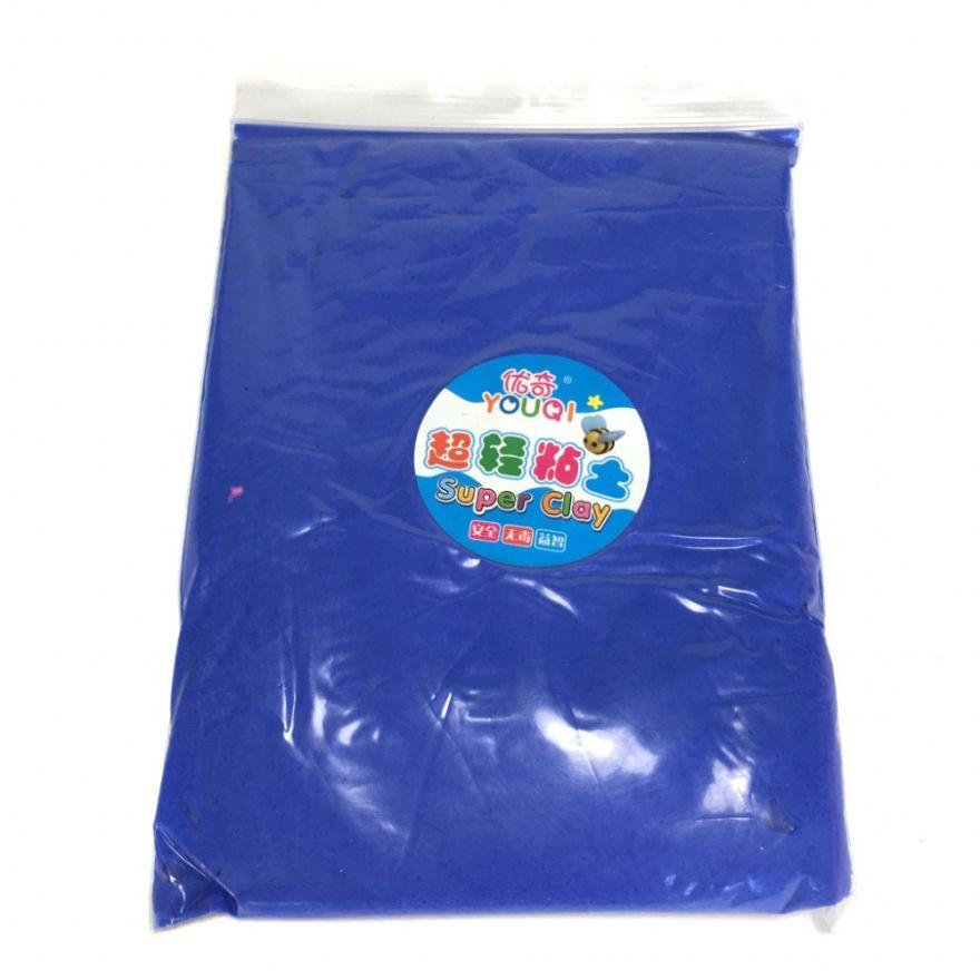 Масса для лепки цветная Super Clay (Цвет: Синий)