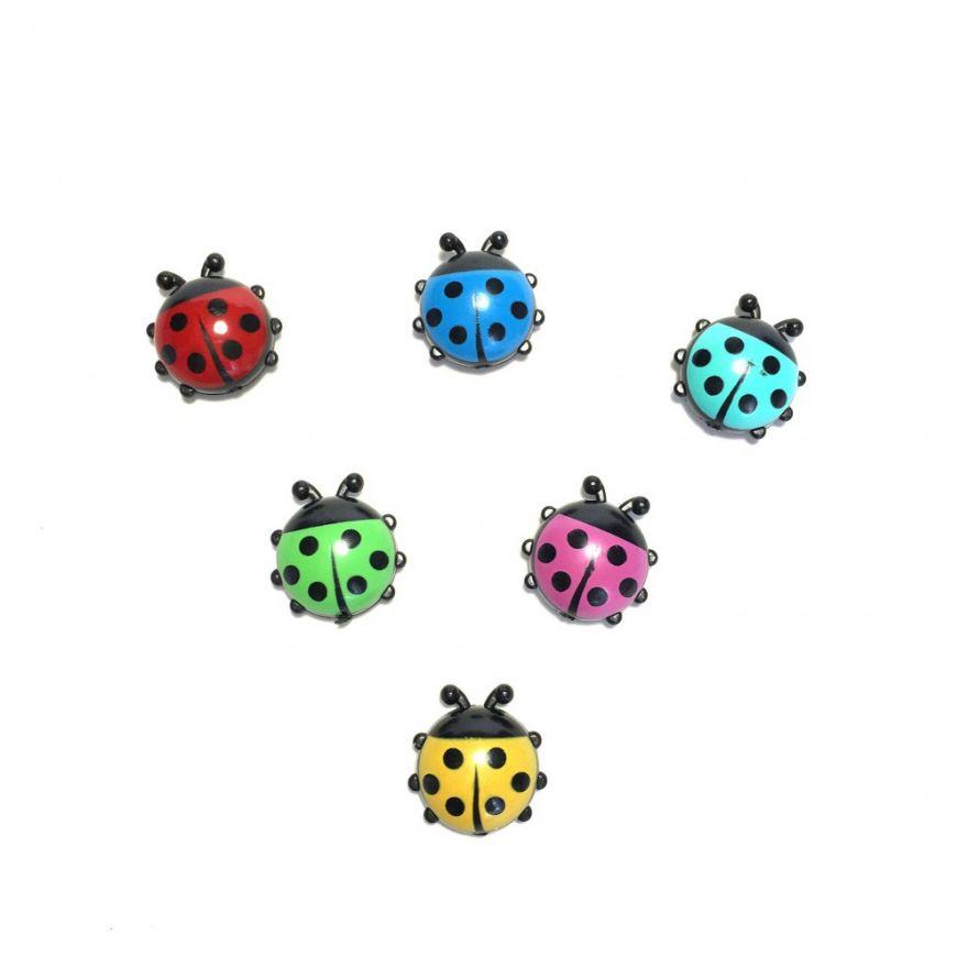 Набор декоративных магнитиков Ladybug, 6 шт