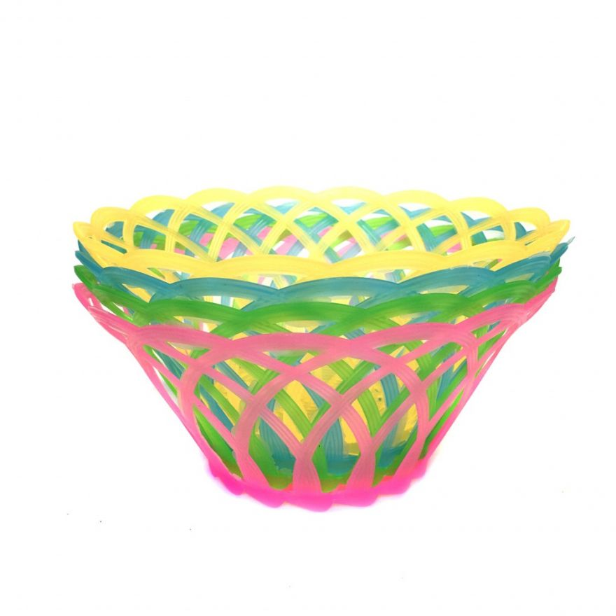 Фруктовница-конфетница в виде плетеной корзинки, 4 шт