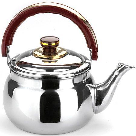 Чайник металлический для газовой плиты (Объем: 1,8 л)