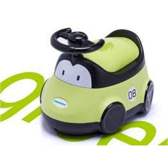 Детский горшок-машинка (Цвет:Зеленый)
