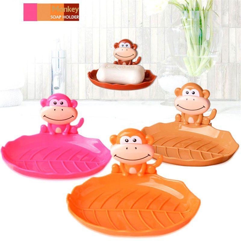 Мыльница на присосках Monkey Soap Dish