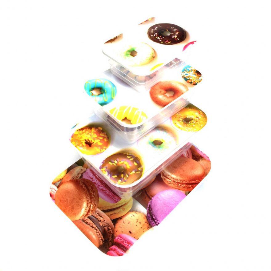 Набор контейнеров для еды, 4 шт