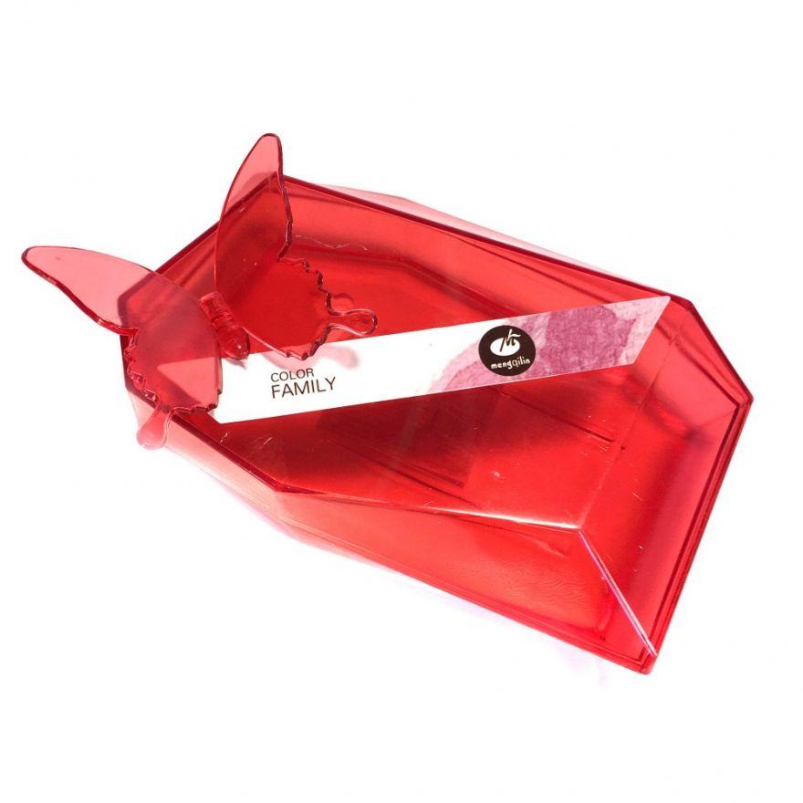 Пластиковая прозрачная дорожная мыльница