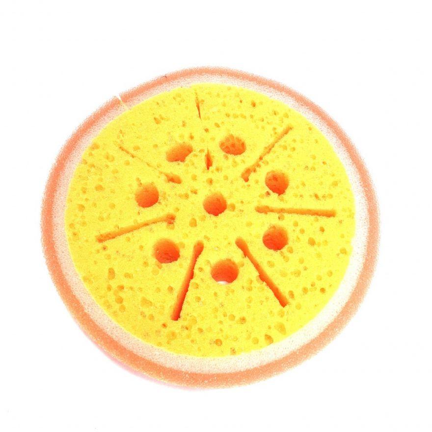 Синтетическая мочалка Bathing Sponge (Размер: 12х12 см)