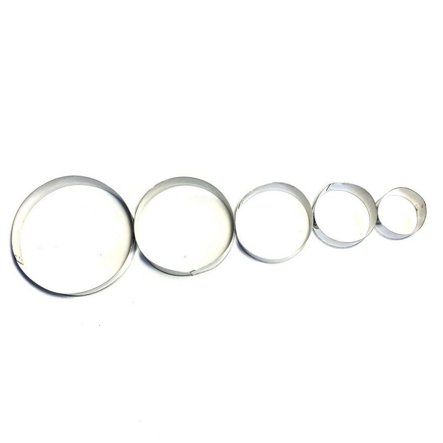 Формы кондитерские кольцо для выкладки выпечки Cookie Cutter (Форма: Круг)