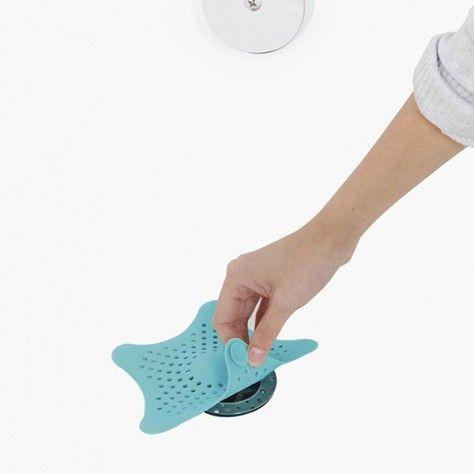 Ситечко для ванной-улавливатель волос Drain Stopper в виде морской звезды