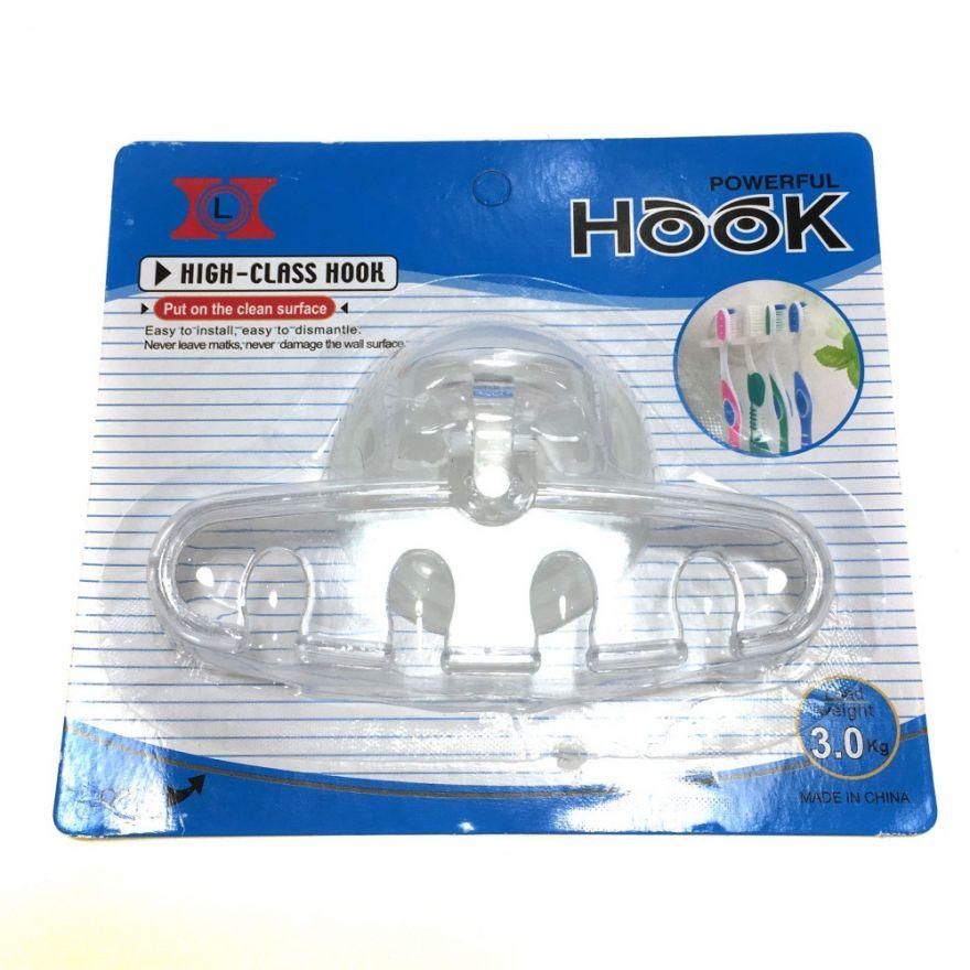 Держатель для зубных щеток на присоске Snap Hook