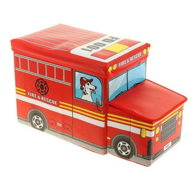 Короб для хранения игрушек Автобус, 2 отделения