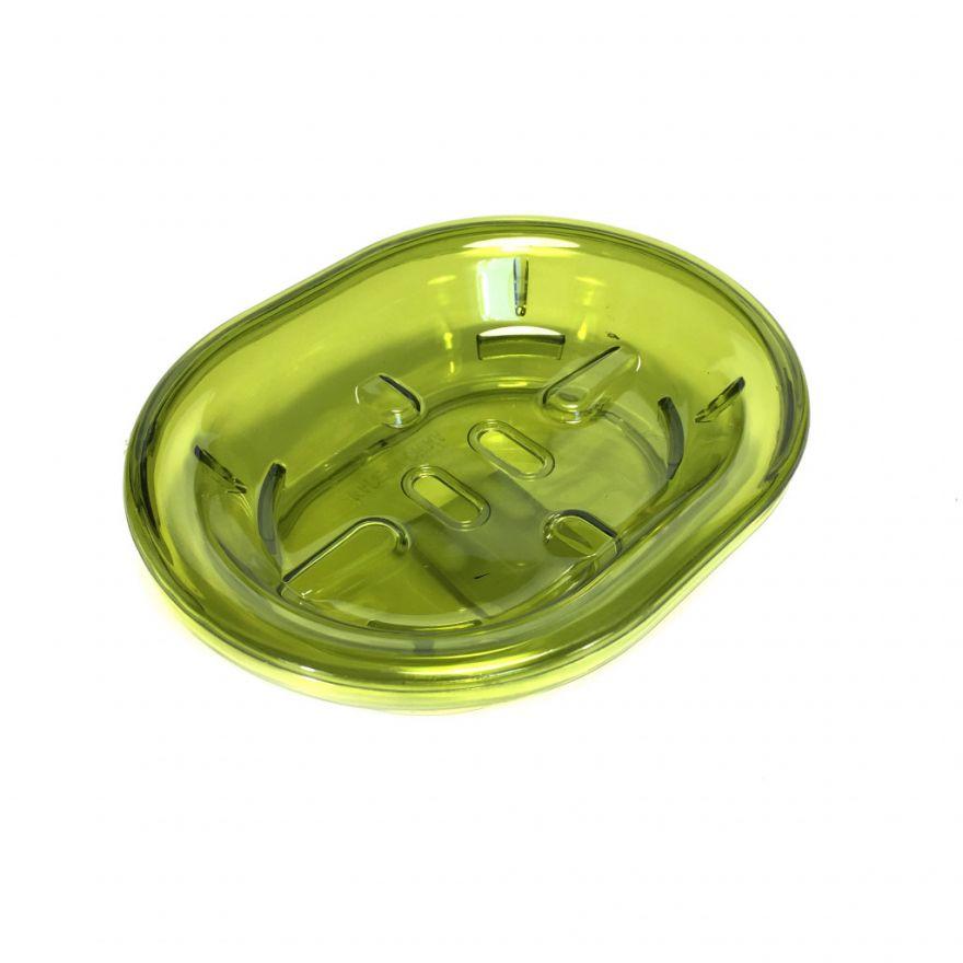 Пластиковая прозрачная мыльница со съемным отделением