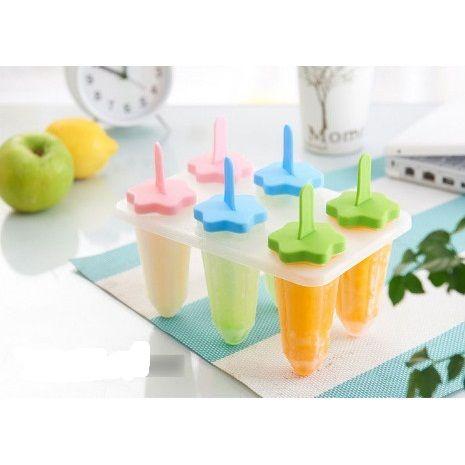Формы для фруктового льда и мороженого, 6 шт.