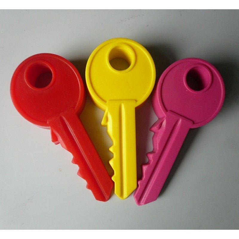Силиконовый дверной ограничитель Ключ, 2 шт.