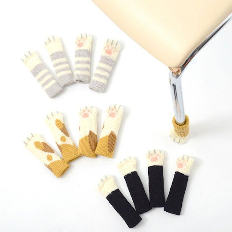 Накладки на ножки стула для защиты пола от царапин