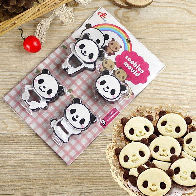 Набор форм для печенья Панды