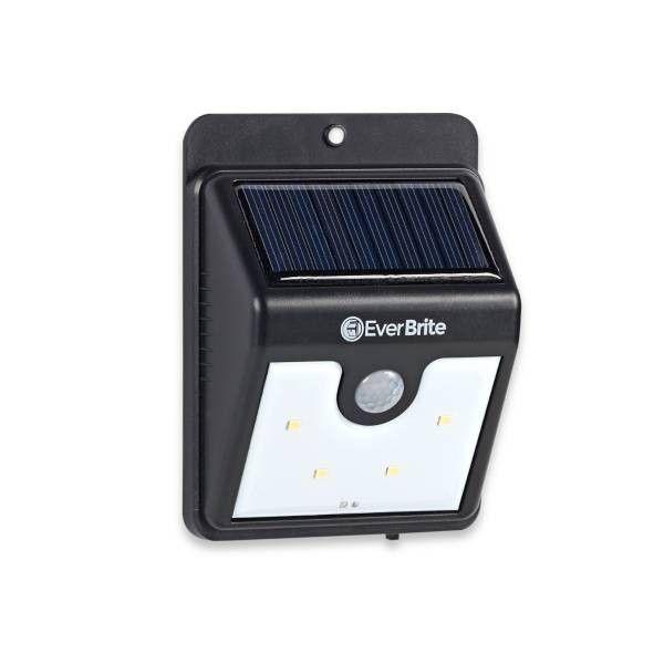 Светодиодный фонарь на солнечной батарее с датчиком движения Everbrite