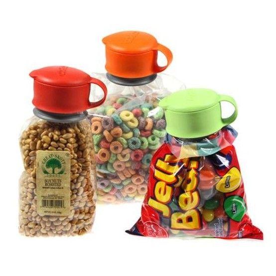 Дозатор для сыпучих продуктов Bag Cap (круглый)
