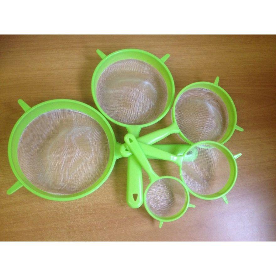 Набор из 5 пластиковых ситочек Kitchen Work