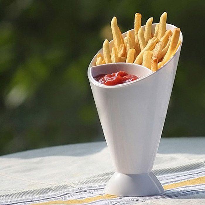 Конус для картофеля фри Dipping Cone
