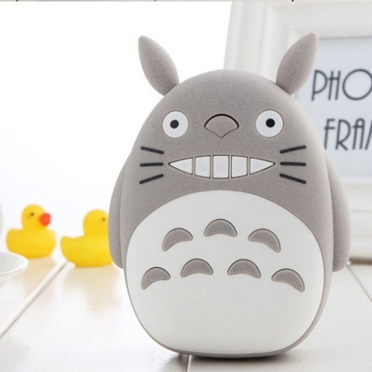 Внешний аккумулятор Totoro Power Bank (Цвет: Серый)