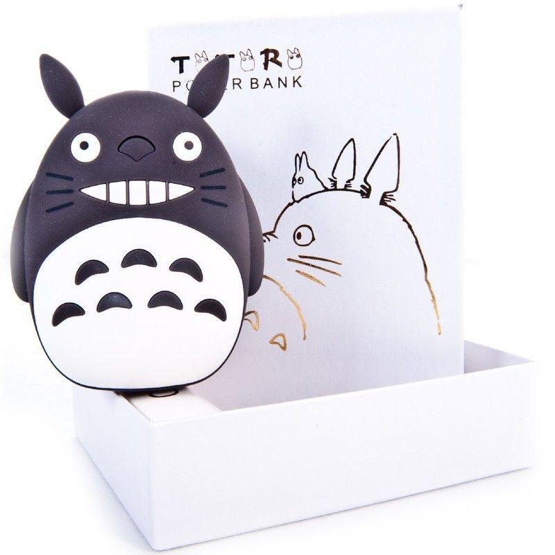 Внешний аккумулятор Totoro Power Bank (Цвет: Черный)