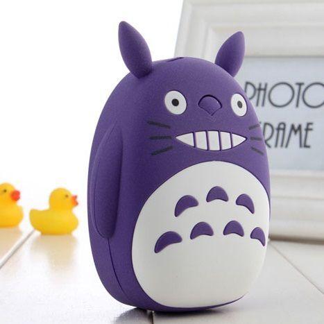 Внешний аккумулятор Totoro Power Bank (Цвет: Фиолетовый)