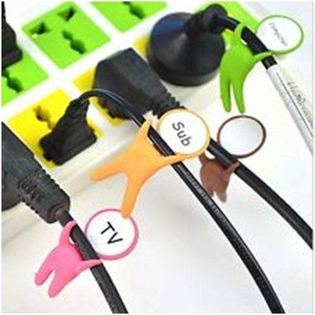 Держатели-маркеры для проводов Label Your Cable (3 шт.)