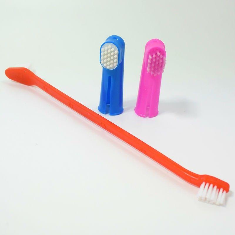 Набор зубных щёток для собак Luxury Paws, 3 шт.
