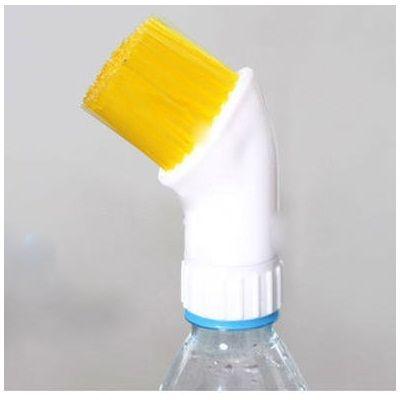 Щётка - насадка на бутылку для мытья труднодоступных мест