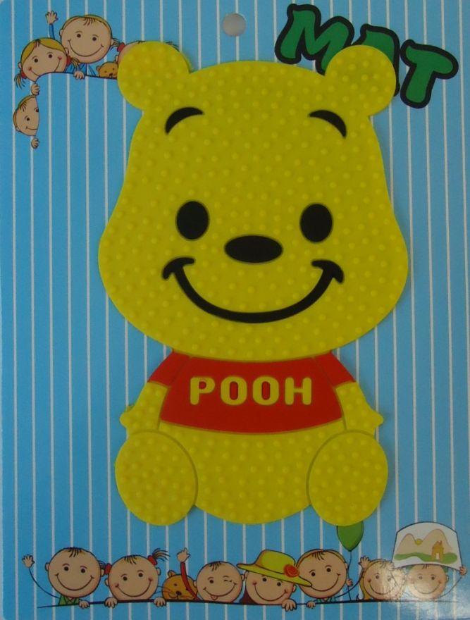Противоскользящий детский коврик Suction Mat (Персонаж: Винни Пух)