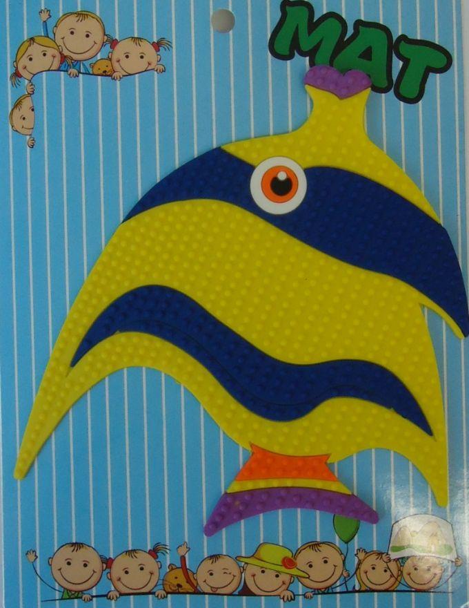 Противоскользящий детский коврик Suction Mat (Персонаж: Рыбка)