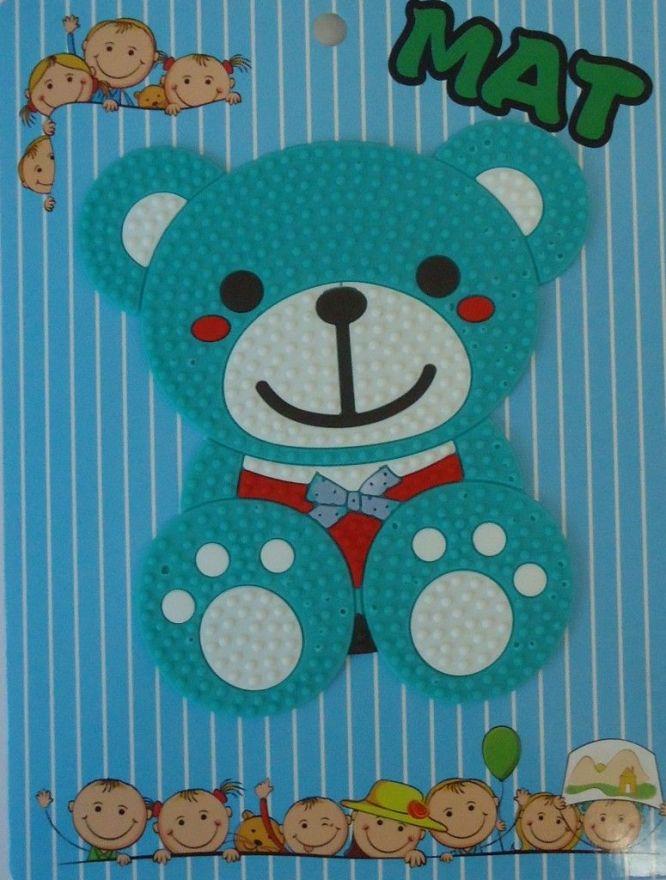 Противоскользящий детский коврик Suction Mat (Персонаж: Медвежонок )