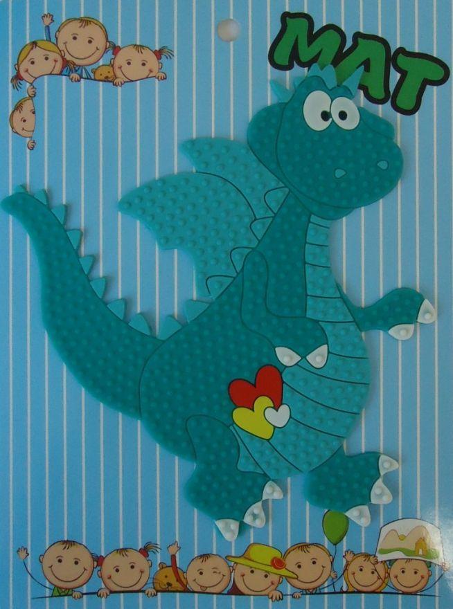 Противоскользящий детский коврик Suction Mat (Персонаж: Дракон )