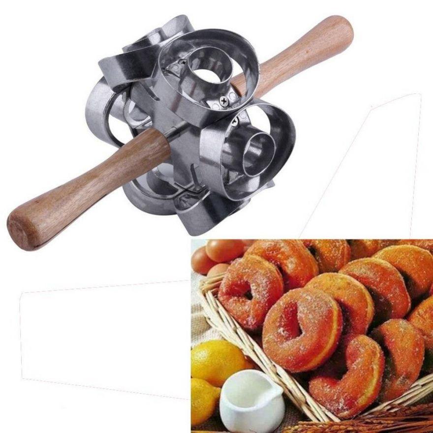 Приспособления для раскатывания и нарезки теста  Donut Cutter
