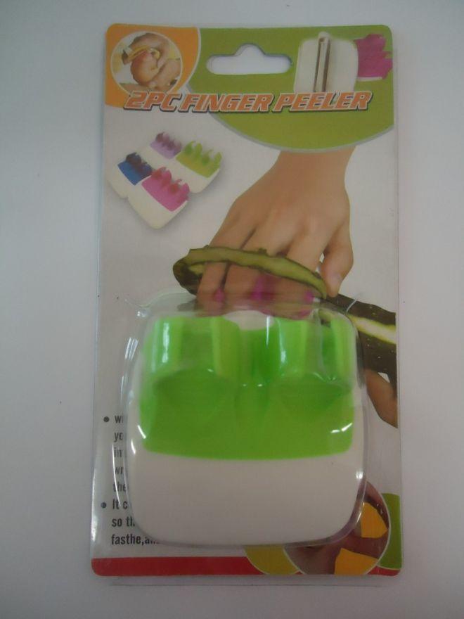Овощечистка 2PC Finger Peeler (двойная)