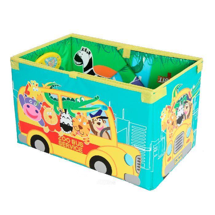 """Музыкальный коврик-коробка """"Зоопарк"""" Foldable Music Storage Box"""