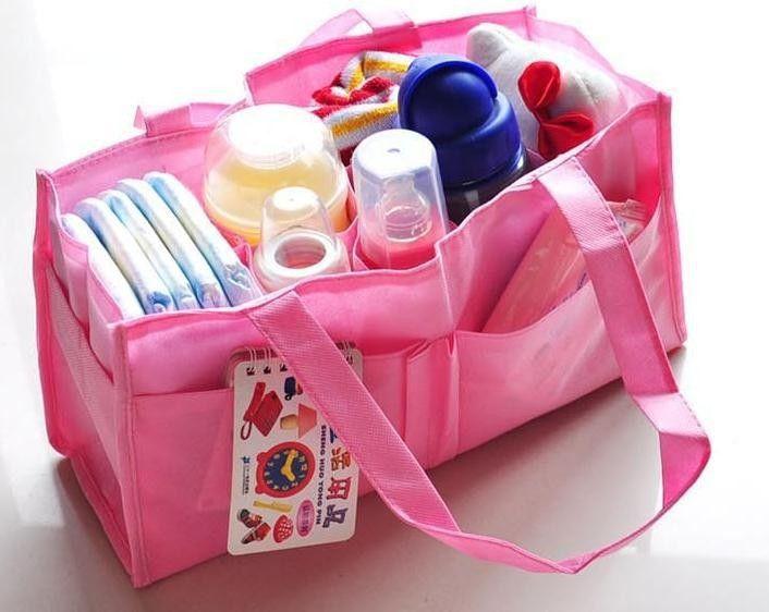 Сумка для пеленок Portable Mummy Bag (Цвет: Розовый)