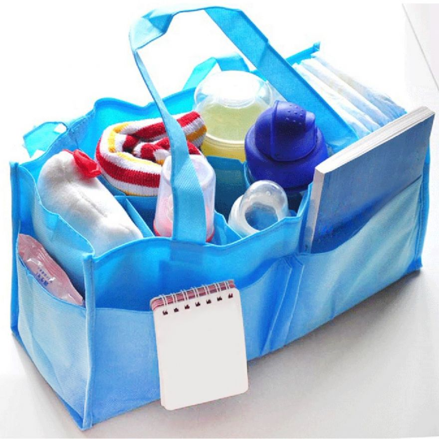Сумка для пеленок Portable Mummy Bag (Цвет: Голубой)