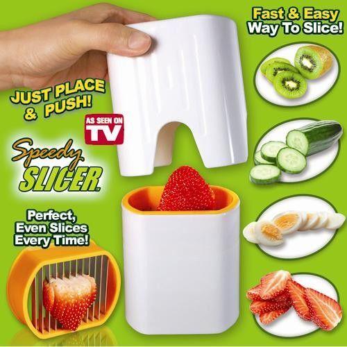 Устройство для быстрой нарезки овощей и фруктов Speedy Slicer