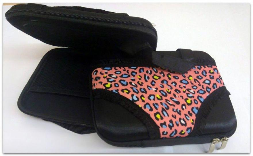 Органайзер-сумочка для трусов (Цвет: Красные в горошек)