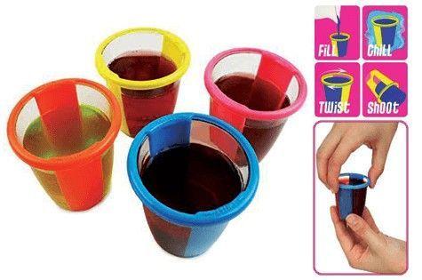 Стаканы для приготовления желе 12 штук Gel Shot Cups